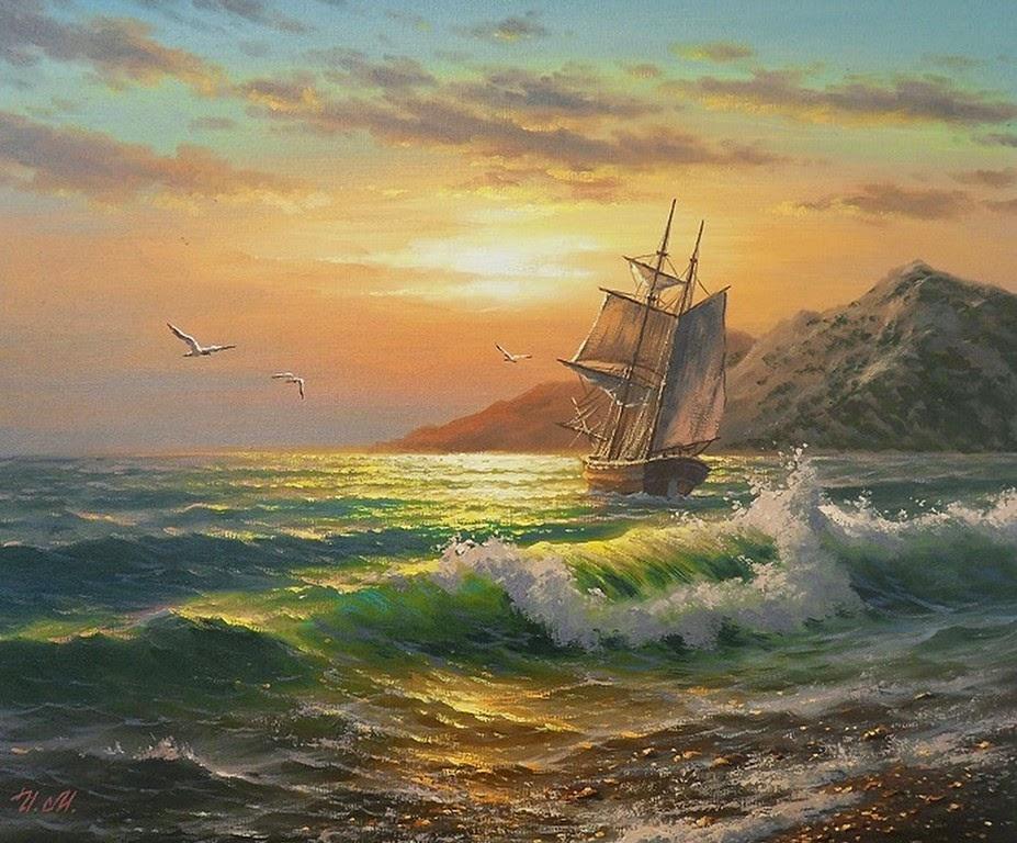 cuadros-de-barcos-de-vela-pintados-al-oleo