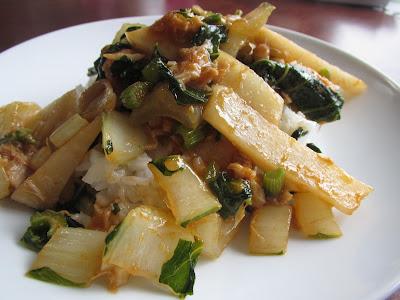Gluten Free Szechuan-Style Stir-Fry over Rice