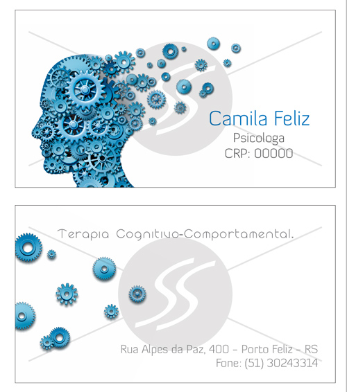 M1781 graficas cartoes de visita - Cartões de Visita para Psicólogos