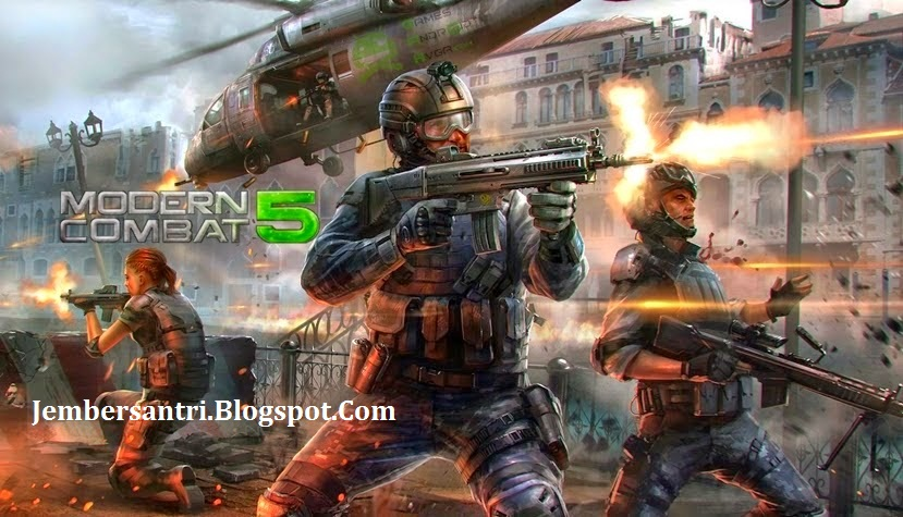 Modern Combat 5 v1.2.0o Apk + Obb Data Screenshot by http://jembersantri.blogspot.com