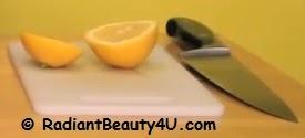 Lemon and oil for dandruff
