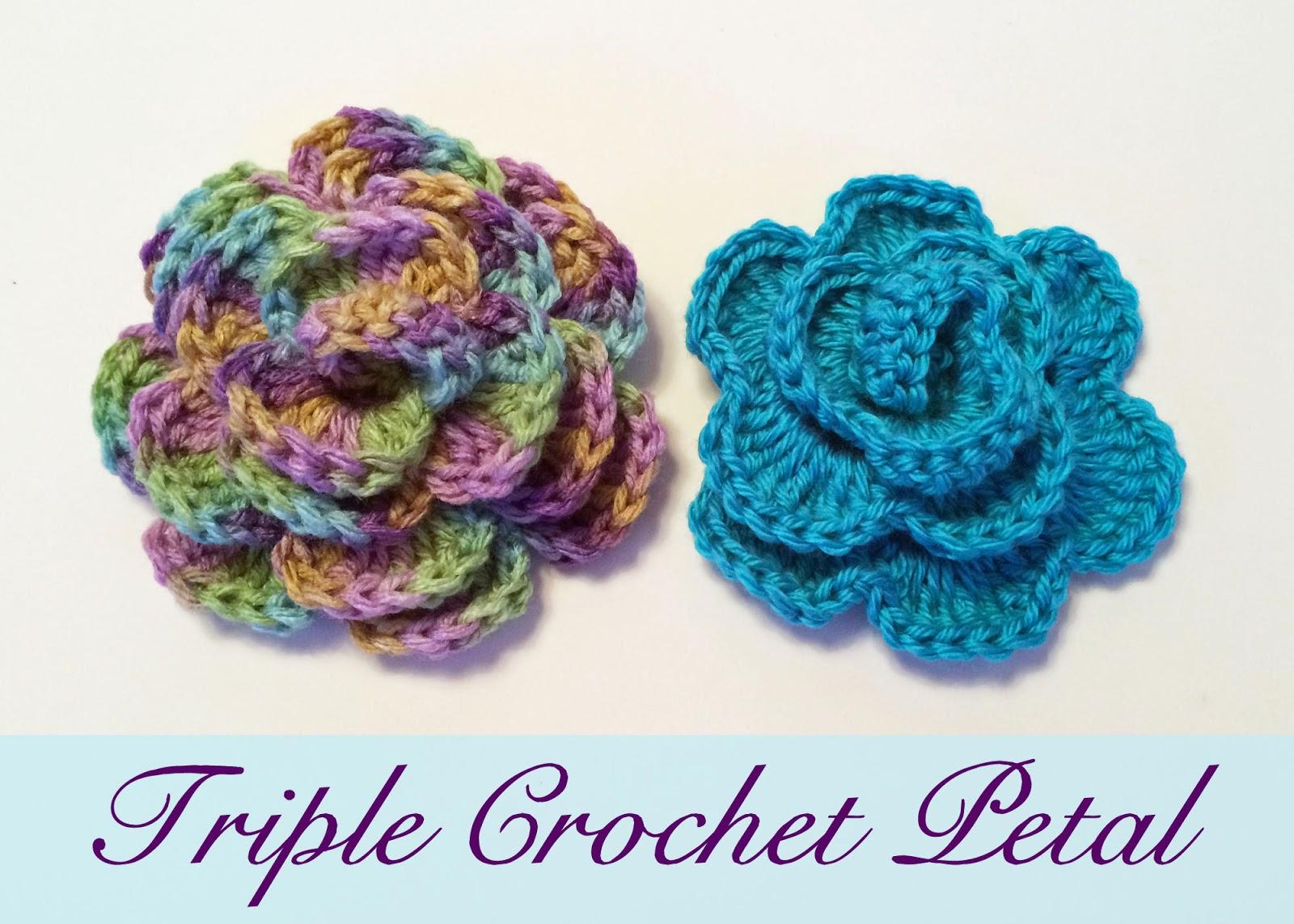 Crochet Rochelle: Triple Crochet Flower