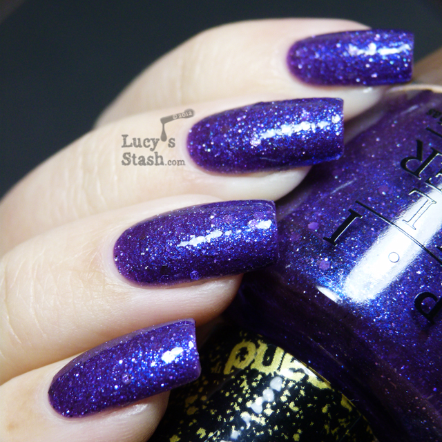 Lucy's Stash - OPI Liquid Sand Can't Let Go with topcoat