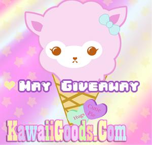 MAY GIVEAWAY ♡