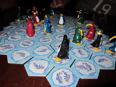 Hey! That's My Fish (Delux) - The board and the wonderful penguins
