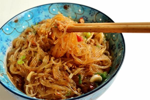Mayi Shang Shiu (Pork With Mung Bean Threads) Recipes — Dishmaps