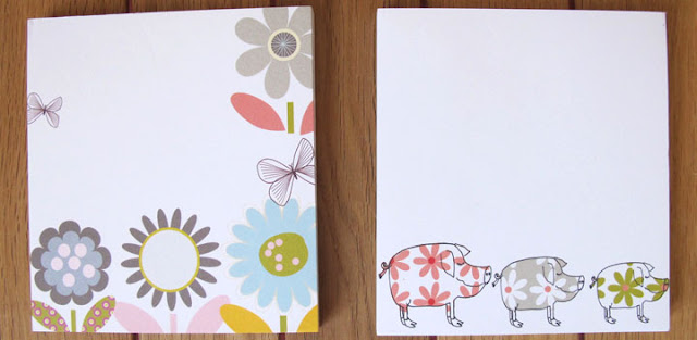 notepads notebooks stationery Liz and Pip Ltd