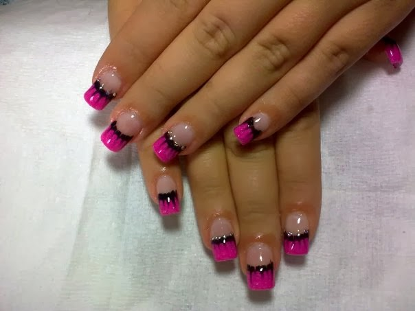 Nail Designs For Short Acrylic Nails