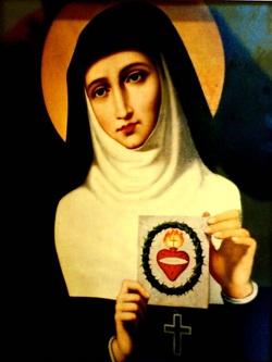 Santa Margarida Maria Alacoque - APÓSTOLA DO SAGRADO CORAÇÃO DE JESUS