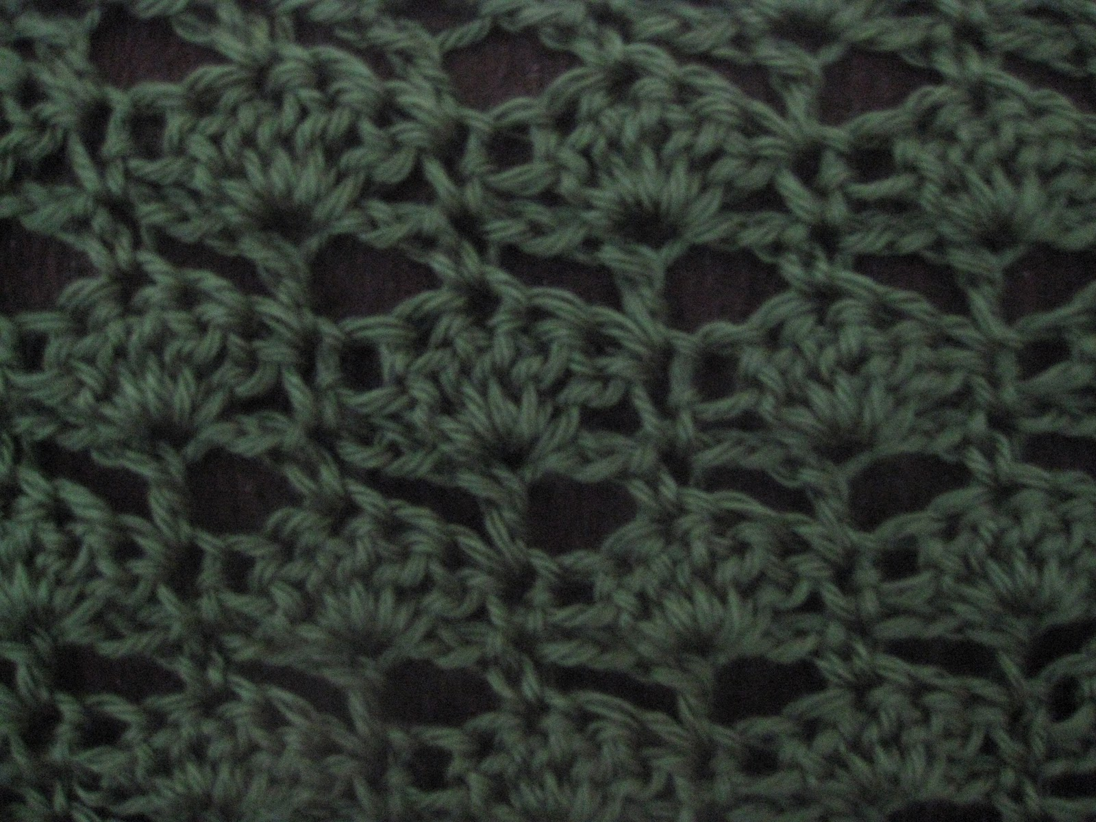 Crochet Stitches Shell : Engineered Crochet: Spaced Shell Stitch