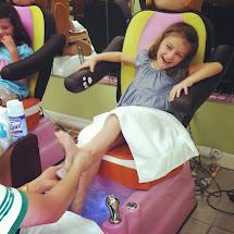 Girl Kid Feet Tickle