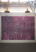 Richard Müller: Peinture murale à l'atelier