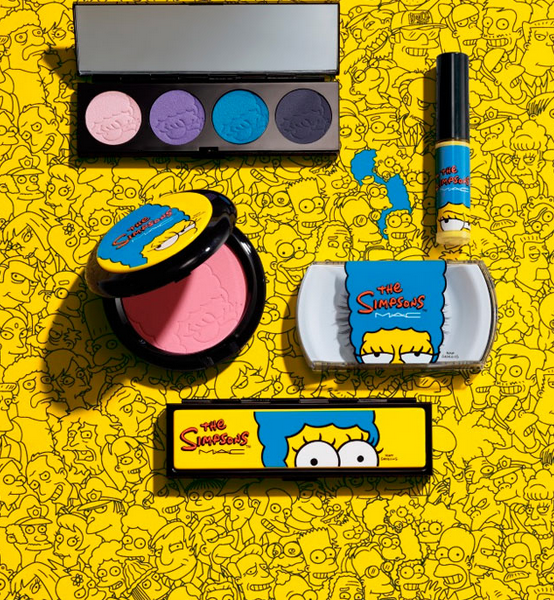 MAC colección The simpsons Marge