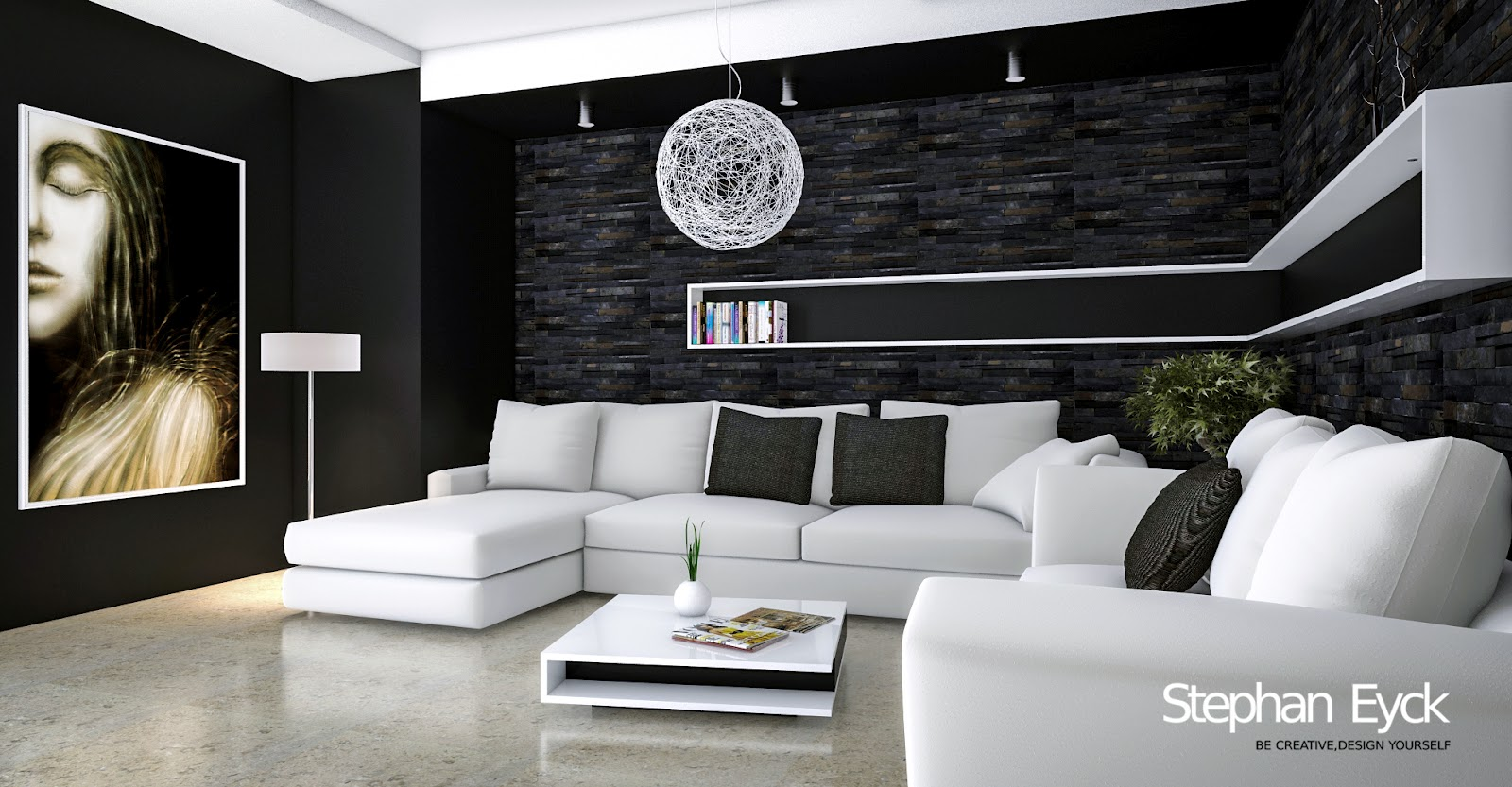 Stephan eyck design interior living room apartament galati for Interior design for 10x10 living room