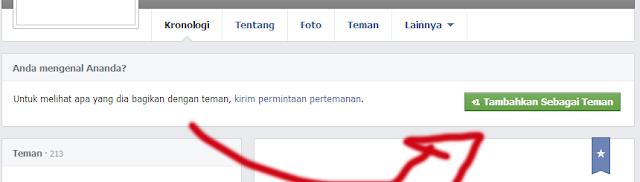 facebook tambahkan teman