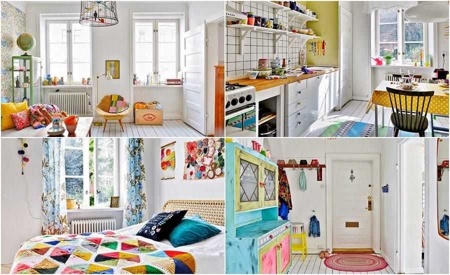 wnętrza, wystrój wnętrz, dom, kolory, radosne mieszkanie