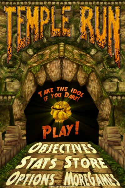 Game Temple Run Segera Difilmkan
