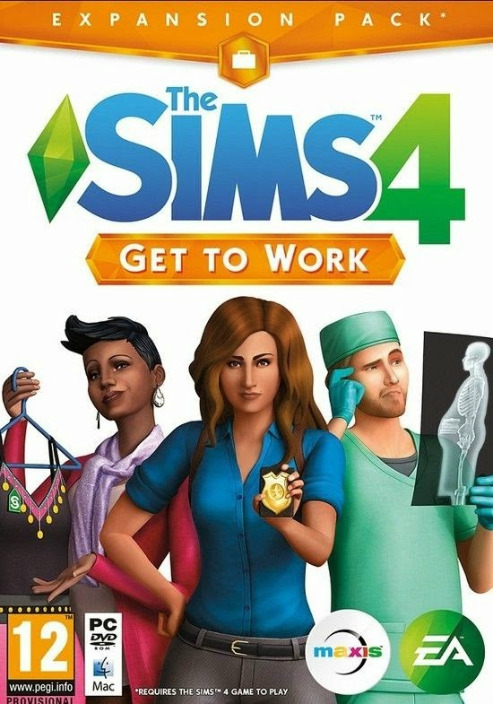 The Sims 4: Get To Work (DLC)