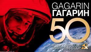 50 años caminando en el cosmos - Yuri Gagarin