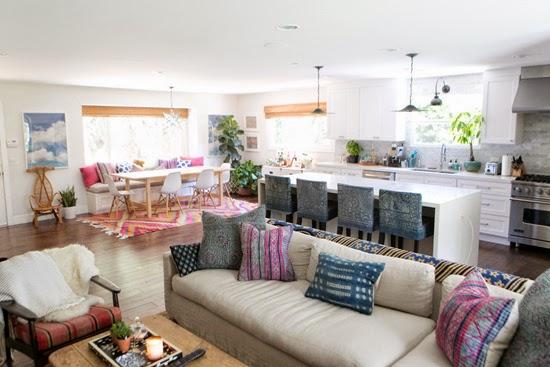 ma maison au naturel la maison en couleur de amber lewis. Black Bedroom Furniture Sets. Home Design Ideas