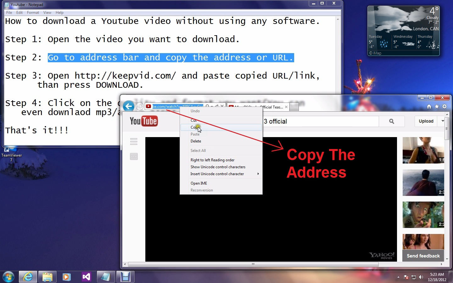 How to download youtube video no software required techno gadget step 3 open httpkeepvid and paste the copied urllink than press downloadnote you may need to download java software if you dont have ccuart Image collections