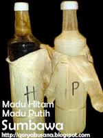 khasiat Madu putih dan hitam sumbawa