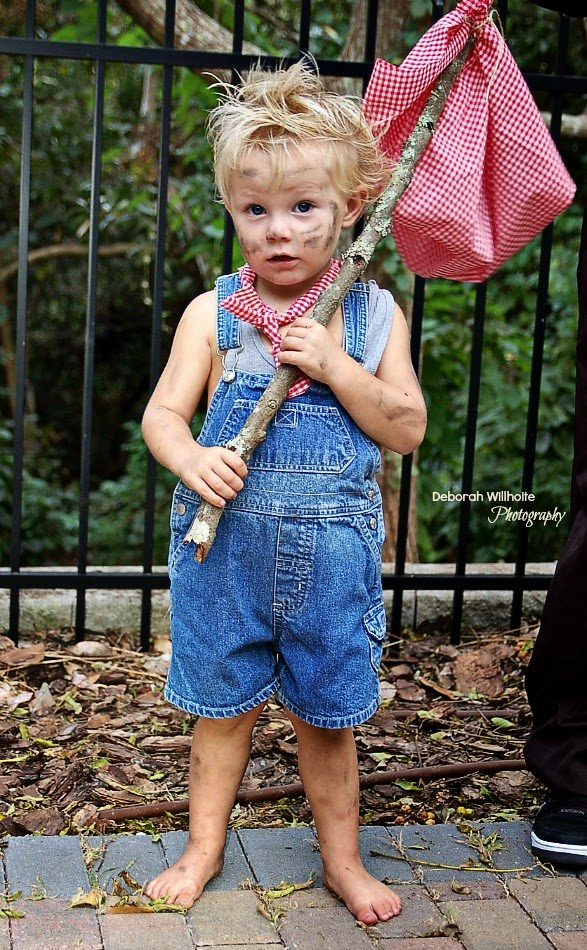 My Grandson Blaze as Tom Sawyer
