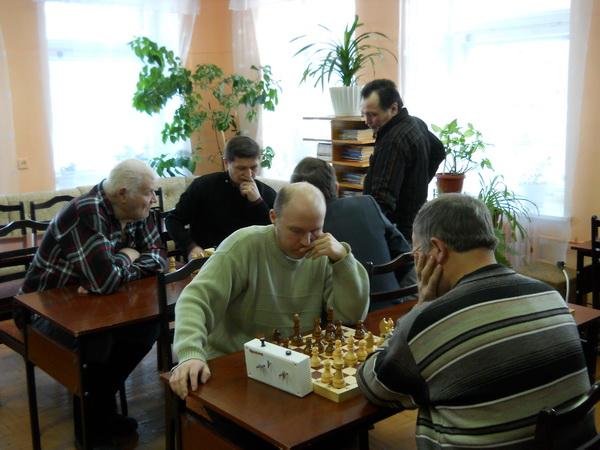 23 февраля в Оршанской центральной библиотеке состоялся шахматный турнир