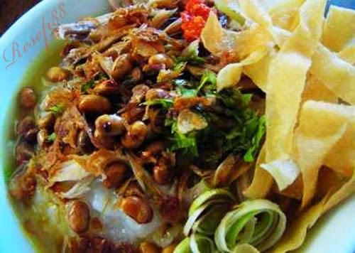 Resep membuat bubur ayam masakan khas indonesia