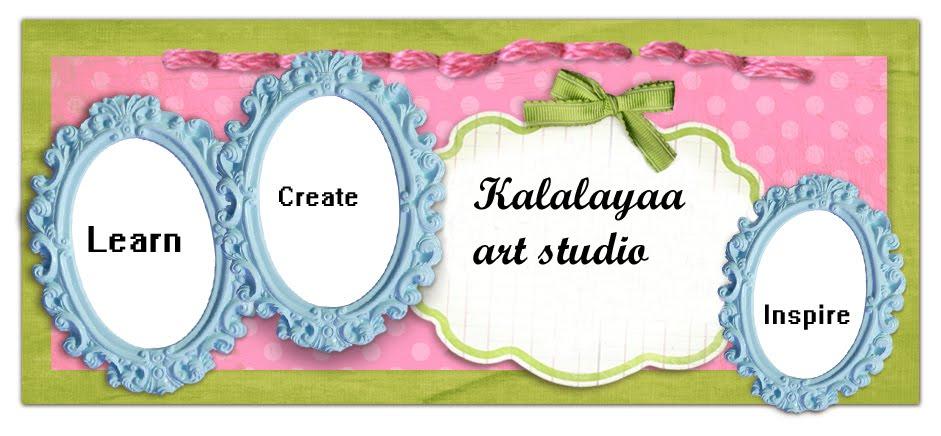 Kalalayaa's art studio