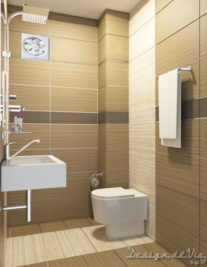 Design d vie approx 30sqft bathroom design penang for Earth tone bathroom ideas