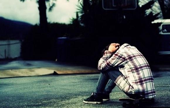Hình ảnh người con trai buồn