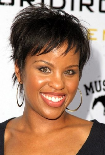 Trendy Short Hair Styles For Black Women