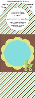 kit cha de bebe menino para imprimir grátis
