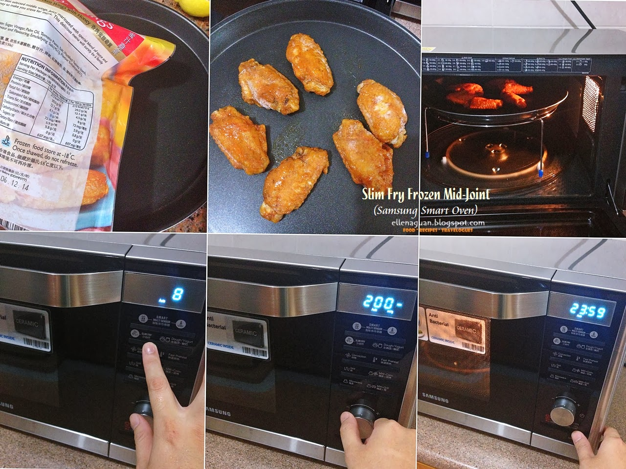 Cuisine Paradise Singapore Food Blog Recipes Reviews And Travel Using Samsung Smart Oven Mc32f606 Part I