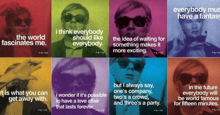 SPECTACLE LOVES YOU Happy Birthday Andy Warhol