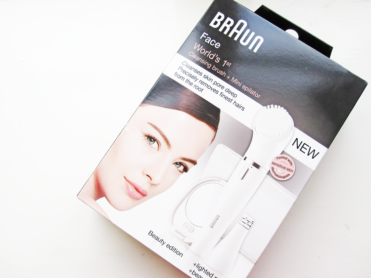 Braun Face 831 Beauty Edition review