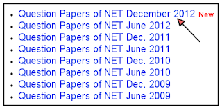 UGC-NET Sample Previous years Papers