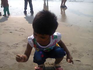 Playing at Juhu