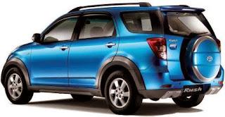 Harga Mobil Toyota Rush Baru dan Bekas Terbaru 2014