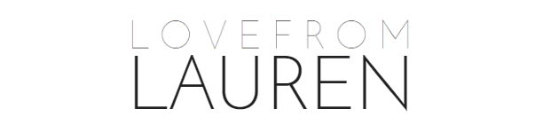 Love From Lauren | UK Lifestyle & Beauty Blog