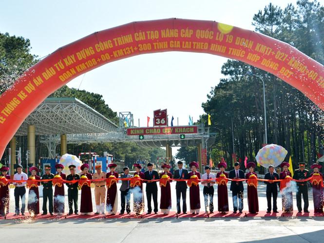 Thông xe Quốc lộ 19 từ Gia Lai đi Bình Định