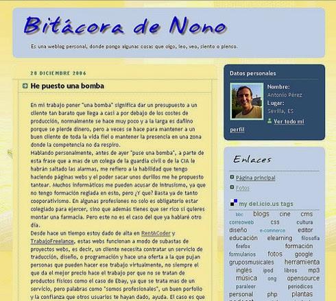 Blog de Nono 2006 - 2012