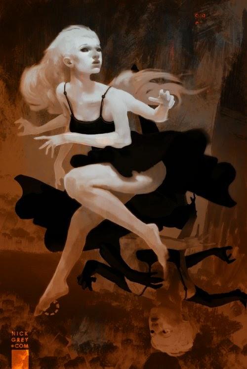 Nicholas Nick Grey deviantart ilustrações pintura digital fantasia arte conceitual