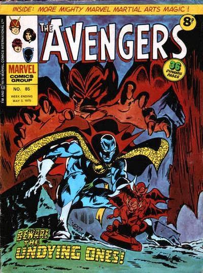 Marvel UK Avengers #85, Dr Strange