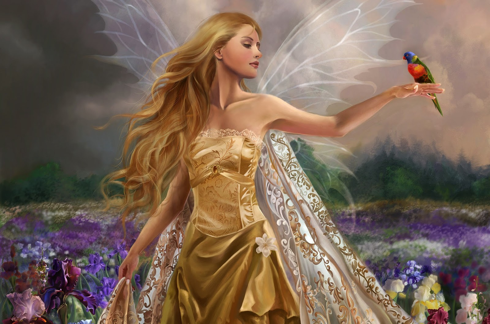 Beautiful Fairy Queens 4u Hd Wallpaper