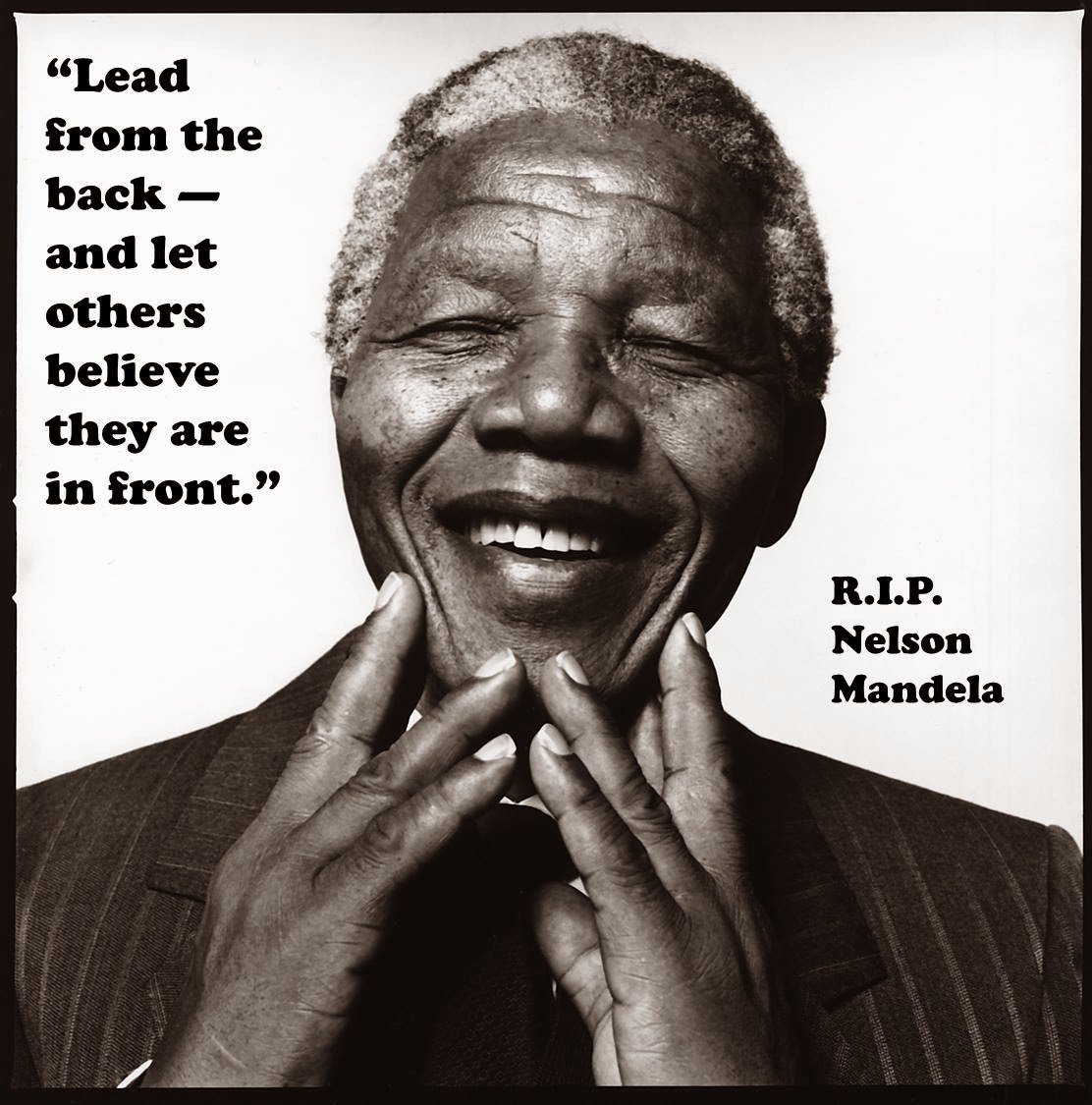 Rest In Peace Nelson Mandela
