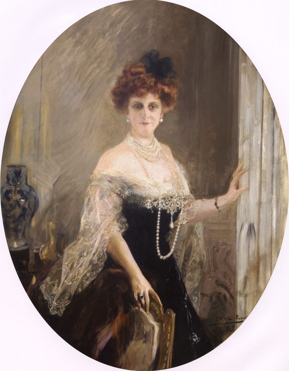 Mrs. Charles B. Alexander, Joaquín Sorolla, Retratos