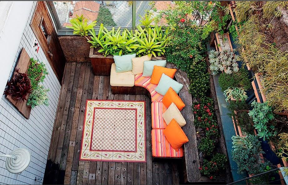 10 Projetos De Varanda Com Cara De Quintal~ Quintal Que Virou Jardim