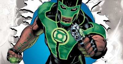 New arab american Green Lantern Baz